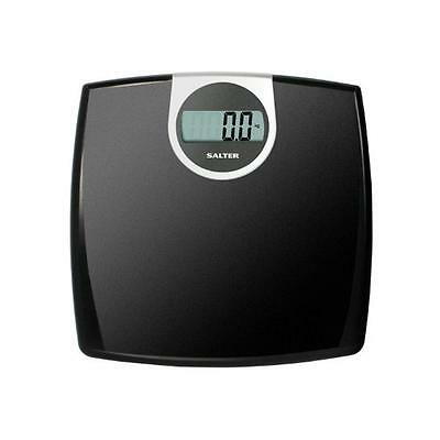 Salter Black Digital Bathroom Scale Electronic Weight Scale - New