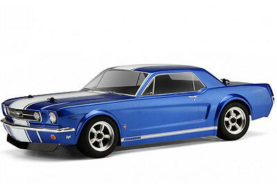 HPI Ford 1966 Mustang GT Coupe Body Shell 200mm 104926