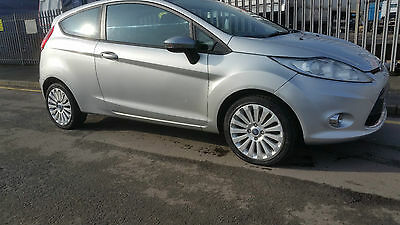 2011 Ford Fiesta 1.4 Diesel, Damaged Repairable Salvage, £1795  Scunthorpe