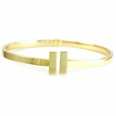 14k Yellow Gold Bangle (new, 4.8g, 7.5 inches, 4mm wide) 3401
