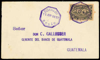 Guatemala Nr. U 10 Brief (1686010943)