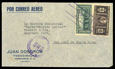 Honduras Nr. 335 u.a. Brief (1686012786)