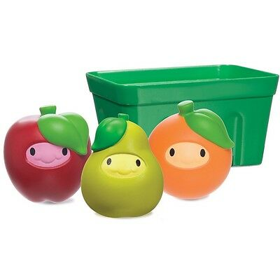Munchkin Squirt - Strain Fruity Friends Basket Bath Toy 1 ea (Pack of 6)