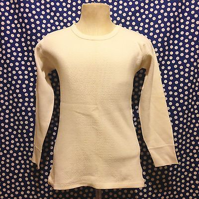 Vintage 1950's-1960's Wright's King O' North thermal shirt long underwear top