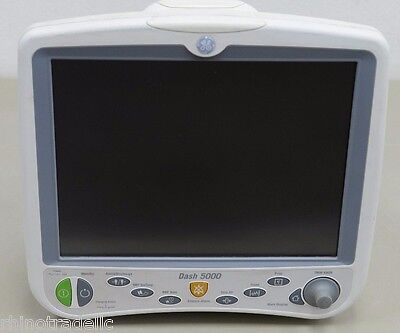 GE DASH 5000 Physiological Patient Monitor (12816)