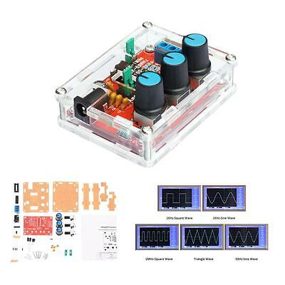 New XR2206 1MHZ DDS Function Signal Generator DIY Kit Sine Triangle Square Wave