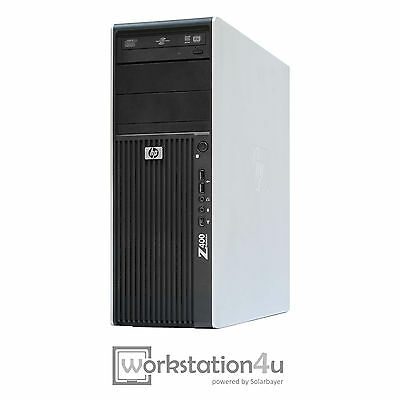 HP Z400 Workstation Hexa-Core X5650 CPU Ram 6GB SSD 256GB Quadro 600 Windows 7
