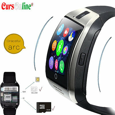 New Smart Watch ARC Bracciale Orologio Telefono BT per Ios Android iPhone Sport