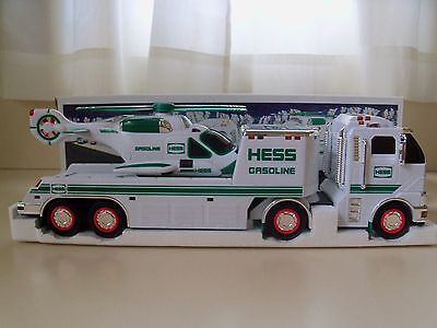 2006 Hess Toy Truck - Toy Truck And Helicopter - New In Box