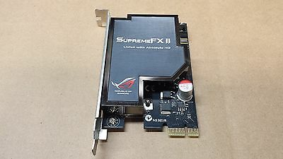 Asus ROG Supreme FX II HD Soundcard for Striker/Rampage/Maximus Motherboards