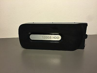 OFFICIAL 120GB Hard Drive Harddrive HD HDD Black (Good Condition) Xbox 360
