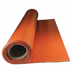 E. JAMES Rubber,Silicone,1/8 In Th,36 Inx15 Ft, 2850-1/8-15