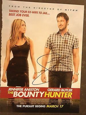 Original Autograph of Gerard Butler (In Person) London has falled, 300