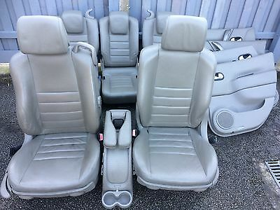 Renault Scenic 2003 - 2008 Full Leather Seats 5 Seats Front And Rear