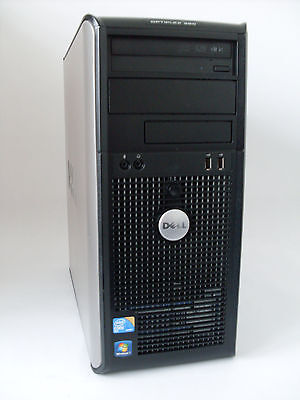 PC System DELL Optiplex 380 INTEL Core2Duo E8400 3,0GHz | 4 GB RAM | 250 GB HDD