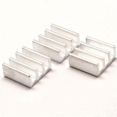 10pcs 11*11*5.5mm Aluminum Heatsink Radiator Heat Sink