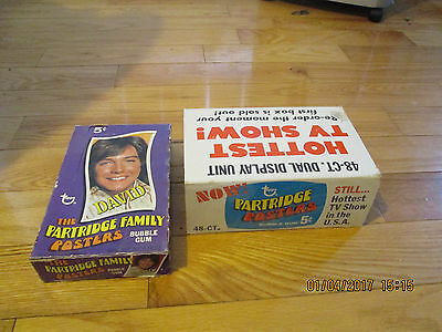 1971 Topps Partridge Family Posters Full Wax Box 24 Packs Mt Unopened With Case