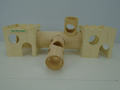 Small Rodent Play Adventure Boredom Breaker Tunnel Toy mouse gerbil dwarf hamste