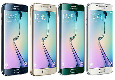 Samsung Galaxy S6 Edge 32GB SM-G925A Unlocked GSM AT&T 4G Android Smartphone
