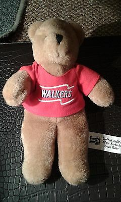 Walkers Beanie Bear - Limited Edition 50th Birthday - Collectable Walkers Crisps