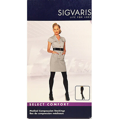 SIGVARIS 861P 862P 863P Select Comfort CLOSE TOE Compression Pantyhose/Hosiery