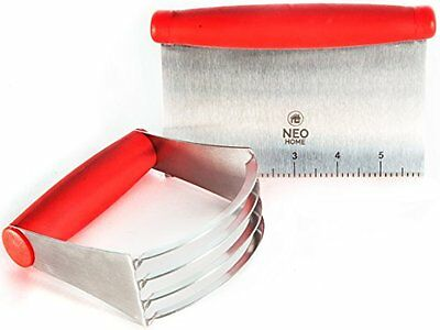 Neo Home- Stainless Steel Pastry Blender/Mixer & Scraper/Cutter Set