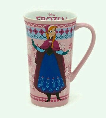 New Disney Store Original Anna Frozen Mug Latte Coffee Tea Cup Elsa