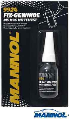 Fix thread medium tight 10ml screw lock screw glue Mannol  9924
