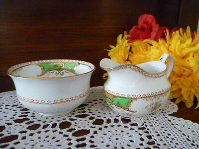 Tea  Set  Size Milk Jug & Sugar Bowl Kenmare Fenton    England