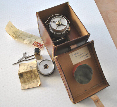 Vintage Hardy Altex No2 Mk 5 Spinning Reel + Rare Fitted Rexine Case + Extras