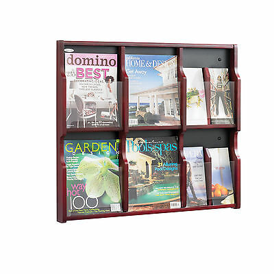 Expose™ Literature Organizer Display 6 Magazine 12 Pamphlet