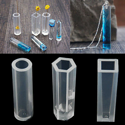 Silicone Pendant DIY Molds Resin Accessories Pendant Jewelry Making Tool