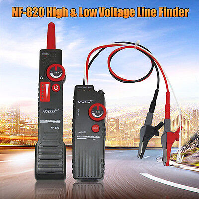 Professional Noaya NF-820 High & Low Voltage Wire Tracker Tone Trace Cable Tools