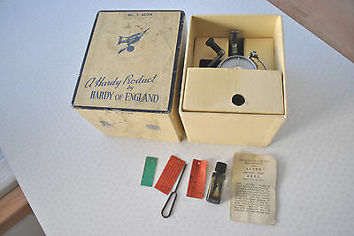 Superb Boxed Vintage Hardy Altex No2 Mk 5 Spinning Reel + Extras