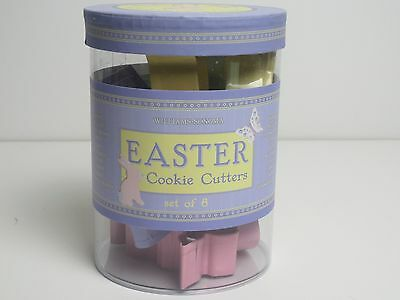 Easter Metal Cookie Cutters Set Of 8 Williams Sonoma Easter Shapes NIP