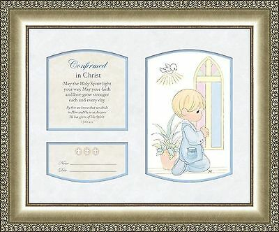 Precious Moments Confirmation Poem Plaque for Boy Personalize 1 John 4:13