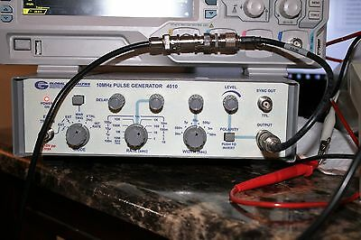 Global Specialties 4010 Pulse Generator 10Mhz Tested New Ac Cord Free Shipping