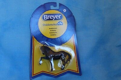 Breyer Black Andalusian Stablemate SM Spanish Walk Chrome Mold Brigitte Eberl