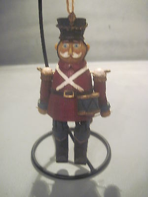 Resin Toy Soldier Ornament With Hinged Arms And Legs