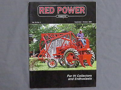 International Harvester IH Farmall Tractor RED POWER Magazine 2005 Sept- Oct