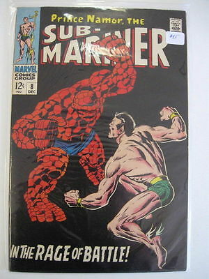 *SUB-MARINER #8 vf/nm High Grade Classic!