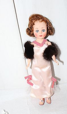"Vintage American Character Toni Doll 10"" Clothes Rare Fur Evening Dress Nice Lot"