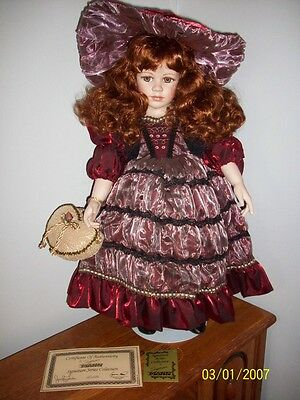 Seymour Mann Porcelain Doll - Amber- Limited Edition Signature Series
