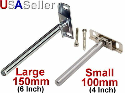 Shelf Support Brackets Blind Hidden Concealed Floating Metal Shelving W/ Screws