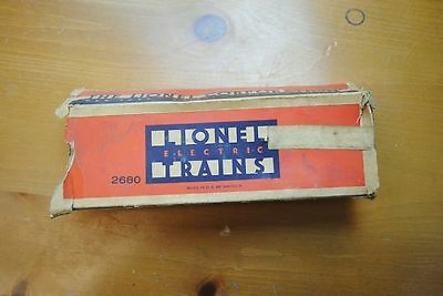 Lionel 2680 Tank Car Box Only