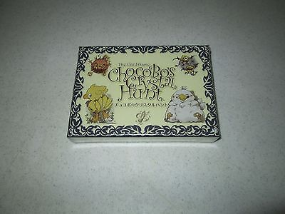 The Card Game Chocobo's Crystal Hunt FREE SHIPPING