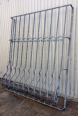 Vintage Retro Wrought Iron Metal Window Spanish Style Security Grill Screen Melb