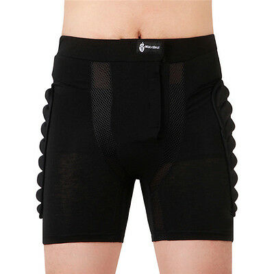 WOSAWE Protective Hip Pants Motorcycle Motorcross Racing Leg Hip Armor Shorts