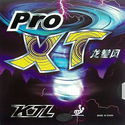 KTL Pro-XT Pips-In Table Tennis Ping Pong Rubber with Sponge