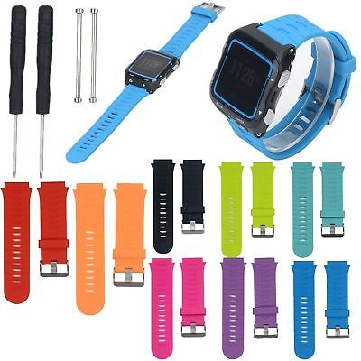 Silicone Replacement Watch Band Strap + Tools Kit For Garmin Forerunner 920XT